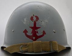 Soviet Naval Infantry Helmet, Caspian Flotilla