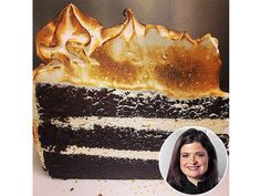 Chef Alex Guarnaschelli shares her all-time best chocolate cake (with marshmallow frosting!) with us.