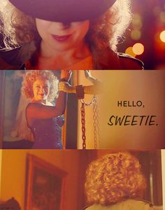 River Song.  Hello, sweetie.