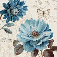 A Blue Note III Fine-Art Print by Lisa Audit at UrbanLoftArt.com