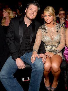 Blake Shelton and Miranda Lambert my favorite celebrity couple hands down!!