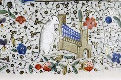 Libro de horas. Francia. Bodleian, MS. Douce 80, fol. 106v.