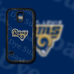 Saint Louis Rams Design on Samsung Galaxy S5 Black Rubber Silicone Case by EastCoastDyeSub on Etsy https://www.etsy.com/listing/196350516/saint-louis-rams-design-on-samsung