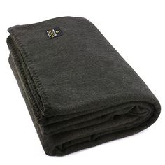 Arcturus 80 Heavy Military Wool Blanket  4 lbs Warm 64 x 88 -- Click image for more details.