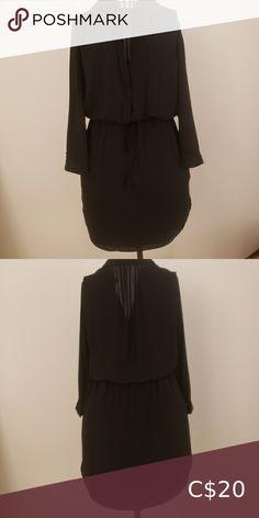 I just added this listing on Poshmark: Babaton black dress. Wardrobe Basics, Classic Wardrobe, Black Long Sleeve Dress, Plus Fashion, Fashion Tips, Fashion Trends, Ruffle Blouse, Dresses With Sleeves, Closet