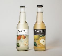 Saxton is a new range of ciders from New Zealand brewery McCashins developed for fresh food retailer Woolworth's, Australia.