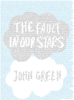 The first chapter of The Fault In Our Stars by John Green recolored to match the cover.