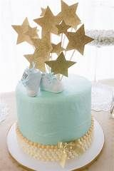 Blue and Gold Baby Shower - Inspired
