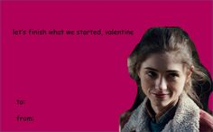 Stranger Things valentines - Nancy Wheeler