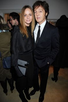 Stella McCartney and Paul McCartney