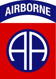 "The 82nd Division was constituted in the National Army on 5 August 1917, and was organized on 25 August 1917, at Camp Gordon, Georgia. Since its initial members came from all 48 states, the unit acquired the nickname All-American, which is the basis for its famed ""AA"" shoulder patch. Famous soldiers of the division include Sergeant Alvin C. York, General James M. Gavin"