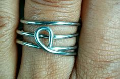 Other side of reversible stackable ring