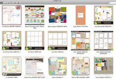 A great line-up of digital PL products to have in your scrapbooking arsenal :) from ginaraemillerphotography.com