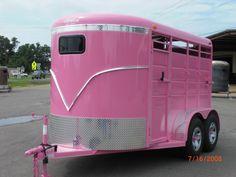 Pink trailer....