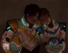 Voltron ✰ Legendary Defender #Cartoon Lance and Hunk
