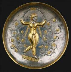 Plate Sasanian Empire. Iran.