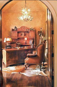Western Office, Hacienda Decor,