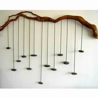 Chords wall sculpture by Artist Andrew Gellatly