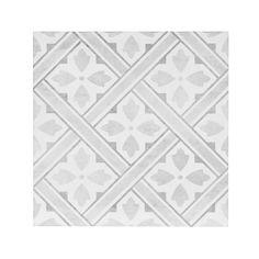 Laura Ashley Mr Jones Dove Grey Ceramic Tile - The Tile Shop Grey Floor Tiles, Bathroom Floor Tiles, Grey Flooring, Wall And Floor Tiles, Downstairs Bathroom, Family Bathroom, Flooring Ideas, White Bathroom, Kitchen Flooring