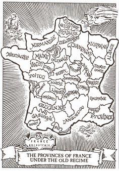 Ancient Provinces of France