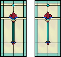 Stained Glass Panel Cabinet Insert | CabinetGlass.com - Cabinet Glass Inserts and Stained Glass Panels