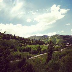 View from balcony at the Stein Eriksen Lodge Deer Valley in  Park City. by @hilaryetravels #IGTravelBook #instagramtravel #parkcity