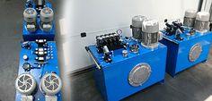 Agregaty hydrauliczne do Pmax-32MPa