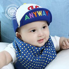 100% Cotton Baby Hats Caps for Spring And Autumn