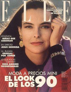 Elle Spain November 1998 - Carole Bouquet