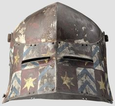 Painted Sallet Late 15th Century