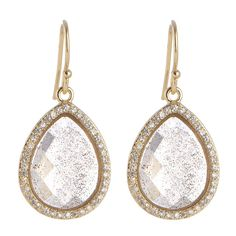 Small Dangling Drop Earrings w/CZs Marcia Moran