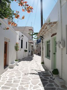 Paros, Greece- Would love to go back here for my honeymoon!