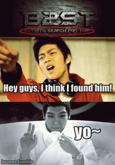Oh! okay, so if I find them, I will find TOP XD
