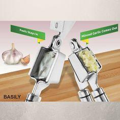 AWESOME Basily Garlic and Ginger Press