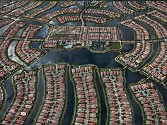 Picture of the week: Cape Coral, Florida, 2012, by Edward Burtynsky