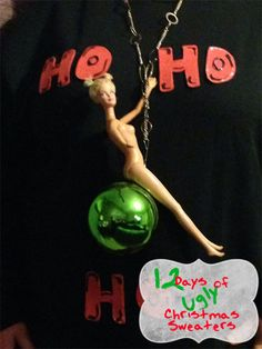 The 12 Days of Ugly Christmas Sweaters: Miley http://incredibleinfant.com/random-but-funny/ugly-christmas-sweaters