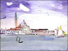 Venise - Raoul Dufy