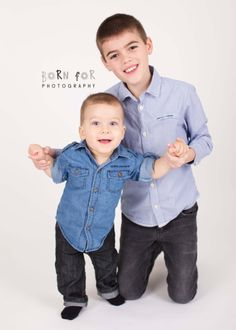 Born For Photography: Kids Photography. Sibling Photography. Good looking Brothers!