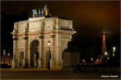 Paris - L'arc de Triomphe du Carrousel du Louvre