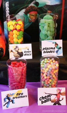 Big Hero 6 Candy Bar