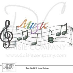 """Clip Art - """"Music 2"""" -Renae Lindgren"""