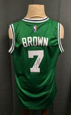 4700172da23 Jaylen Brown  7 Signed Celtics Jersey Autographed Adidas Sz XL AUTO JSA COA