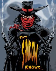The Shadow Knows... by VagabondX.deviantart.com on @deviantART