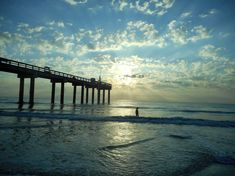 Sunrise at the pier.  Saint Augustine Beach, Florida.   #saintaugustine #myfloridalife #lilsusieq #shopping #staugustine #oldestcity #daytrip #siteseeing #weekendtourist #adventure #blogger #travelblog #lifeblogger #saintaugustine #myfloridalife #lilsusieq #shopping #staugustine #oldestcity #daytrip #siteseeing #weekendtourist #adventure #blogger #travelblog #lifeblogger