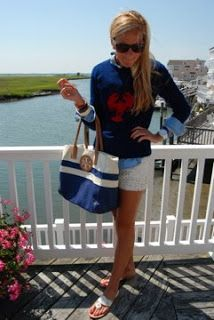 Nautical by Nature: Nautical Outfit of the Week: Such Good Style