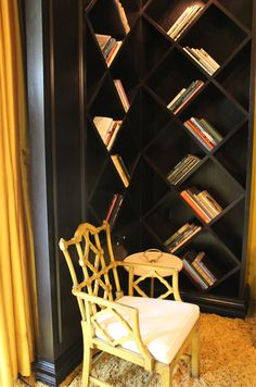 Jess kinda like this but not all crazy. Just the cubes but maybe like long rectangles I suppose. Cubes turned on an angle/ book shelf