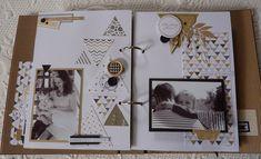 Anne : Album Chic et Kraft - Album Photo Scrapbooking, Mini Albums Scrapbook, Travel Scrapbook, Diy Scrapbook, Scrapbooking Layouts, Scrapbook Pages, Diy Album Photo, Photo Book, Album Photos