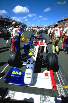 1999 Australian Grand Prix, Melbourne, Jacques Villeneuve, BAR ©unknown Le Mans, Albert Park Melbourne, Gp F1, Australian Grand Prix, Gilles Villeneuve, American Racing, Formula 1 Car, Old Race Cars, F1 Drivers