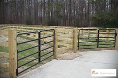 Ranch Fencing Ideas | farm fencing is a job best left to professional fence designers and ...