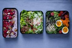 In this feature, Sara from Shiso Delicious shares three of her favourite bento boxes fillers with us. Healthy recipes to enjoy at lunch. Lunch Recipes, Healthy Dinner Recipes, Healthy Snacks, Healthy Eating, Cold Side Dishes, Salad Dishes, Partys, Bento Box, Original Recipe